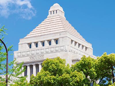 法整備を行う国会